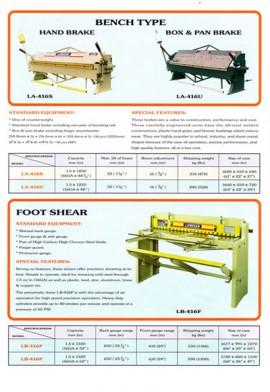 Folding Machine - Bench Type